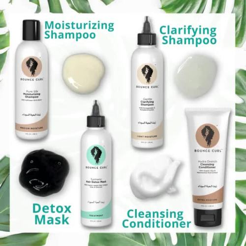 Bounce Curl Products for Clarifying Hair