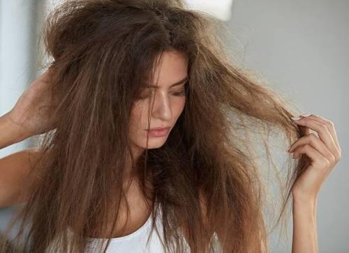 Dry High Porosity Hair