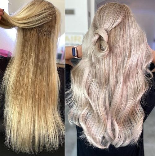 Fighting Yellow Tones in Blonde Hair