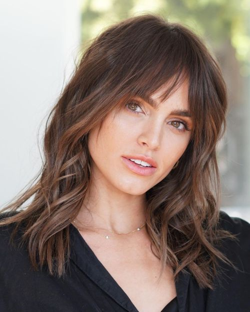 Elegant Sunkissed Hairstyle for Women