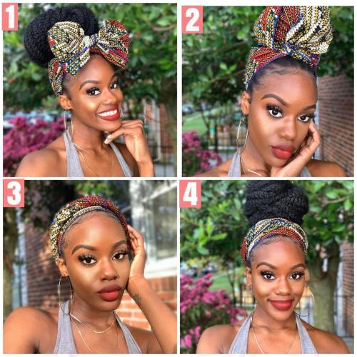 Headwraps with Head Scarf