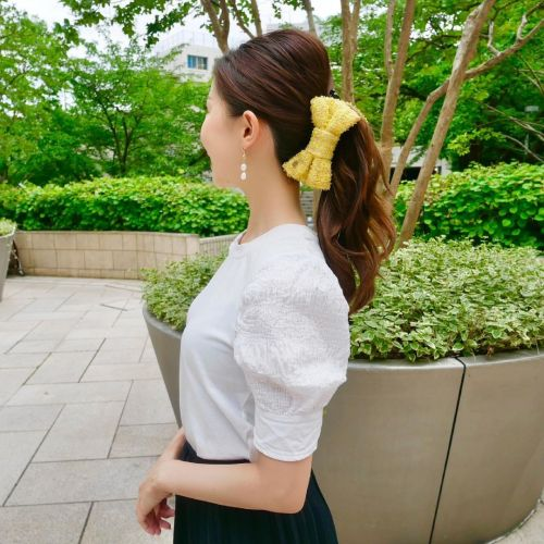 Banana Clip Hairstyle with Bouffant