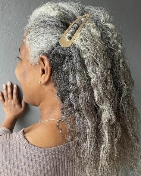 Hairstyle for an Older Black Woman