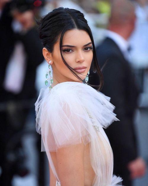 Jen Atkin's Updo for Kendall Jenner