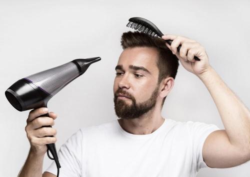 Blow Drying Men's Hair
