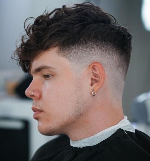 Middle Fade Haircut