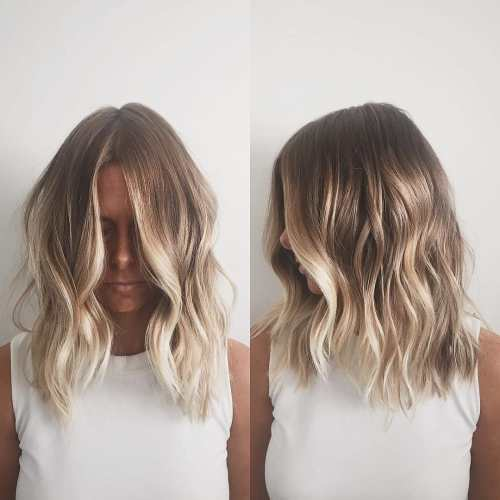 4 Blonde Blond Straight Hair Sweep Blonde Balayage: 90 Balayage Hair Color Ideas With Blonde, Brown And