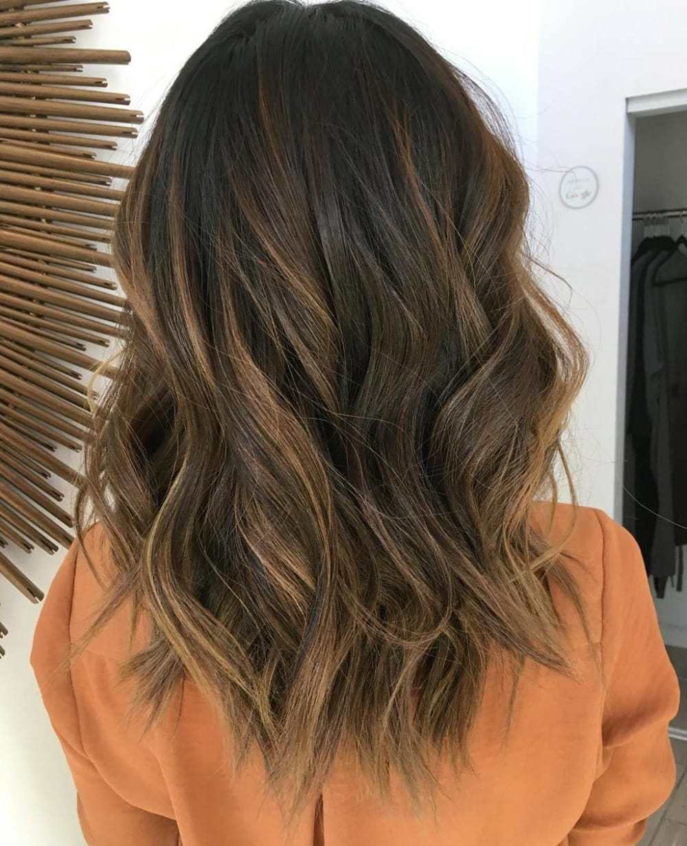 90 balayage hair color ideas with blonde brown and caramel highlights medium dark brown hair with caramel balayage pmusecretfo Choice Image