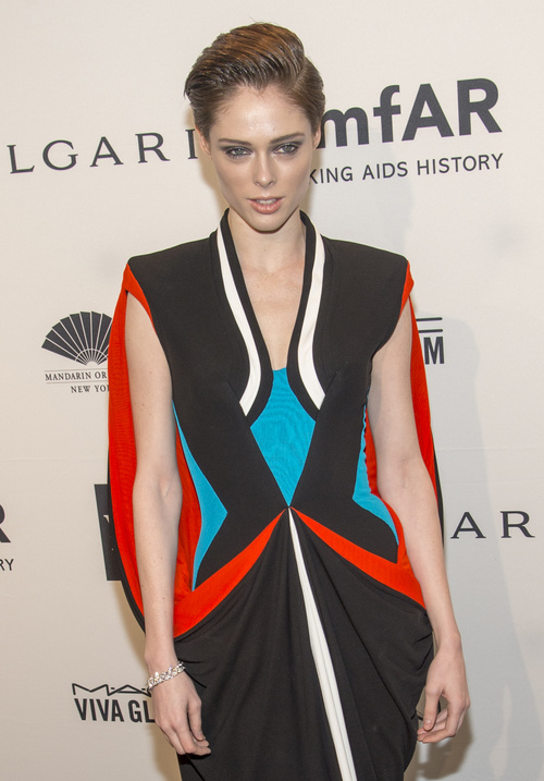 Coco Rocha short haircut