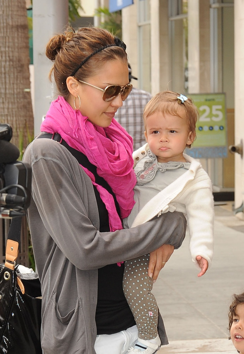 Jessica Alba's Daughter