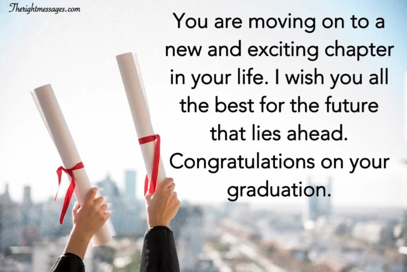 Congratulations On Your Graduation Wishes | The Right Messages