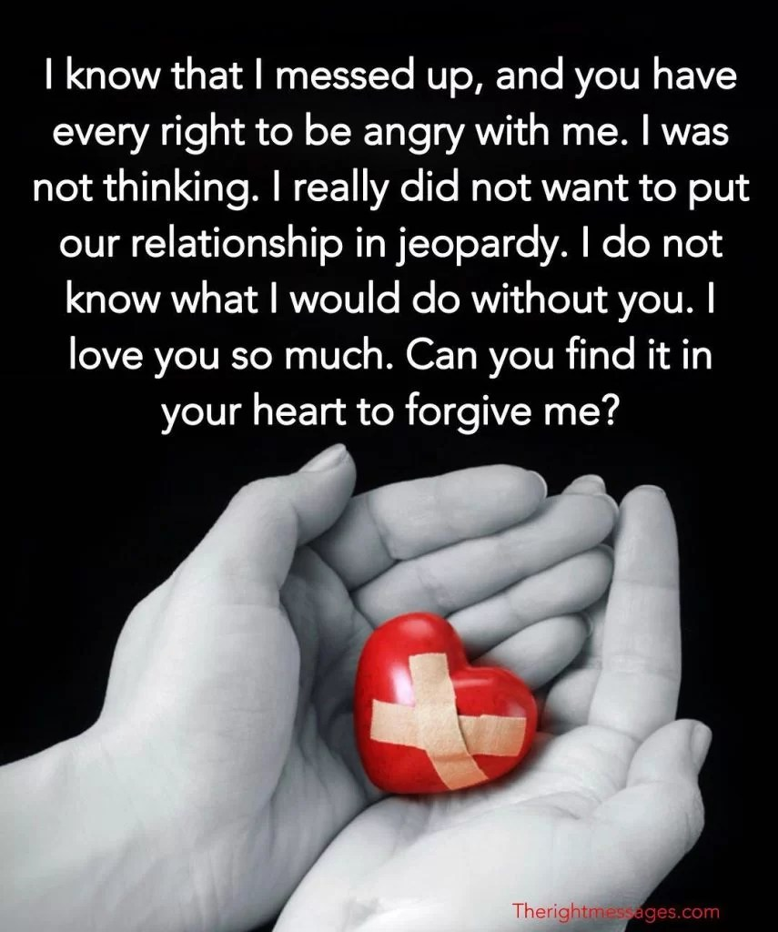 I'm Sorry Messages For Boyfriend - Romantic Ways To Apologize To Him | The Right Messages