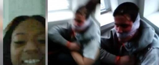 Image result for man tortured chicago twitter
