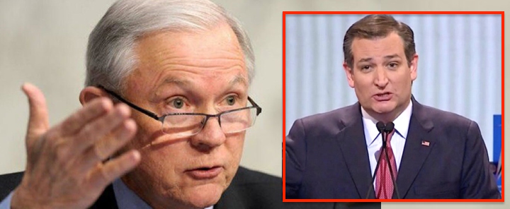 ted cruz defends sessions from vile efforts to smear his good name