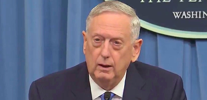JUST IN: General Mattis asked if he's a Democrat and here's his AWESOME answer!