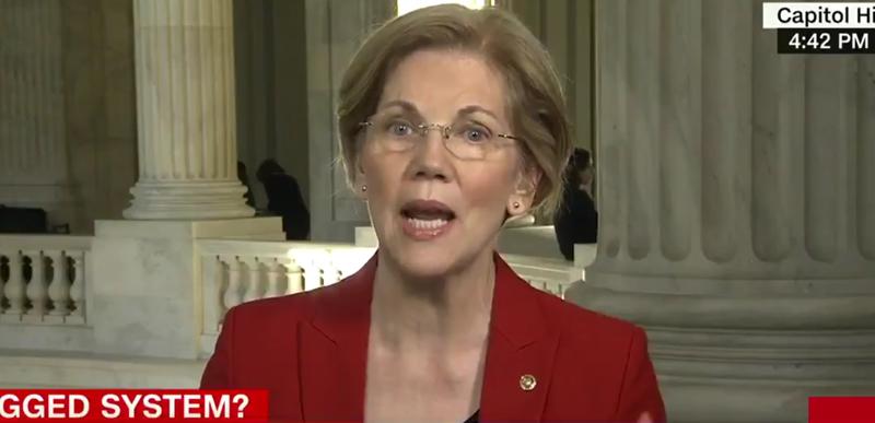 WOW: Even Sen. Elizabeth Warren admits Hillary rigged the election!