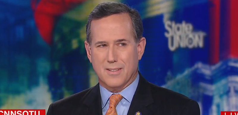 WATCH: Rick Santorum drops some climate TRUTH and Bill Kristol accidentally AGREES with him on CNN
