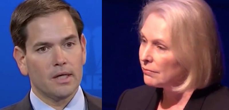 Marco Rubio STOMPS on Kirsten Gillibrand's absurdist femiNAZI extremism
