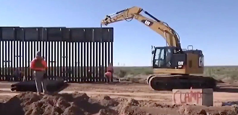 Trump releases new video of the WALL being built!