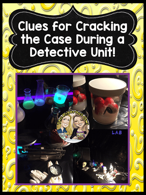 Crack the Case of an Engaging Crime and Mystery Unit WIDE OPEN HERE!