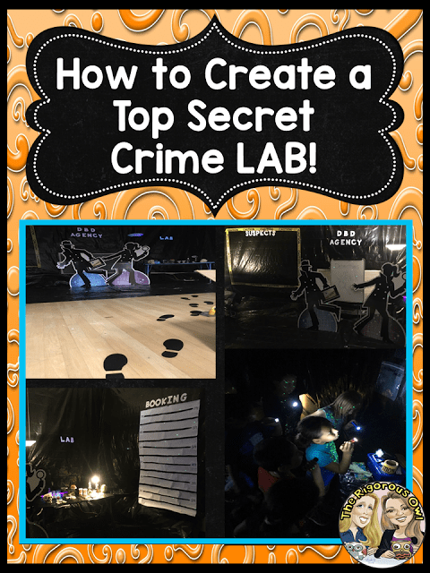 How to Create a Top Secret Crime Lab