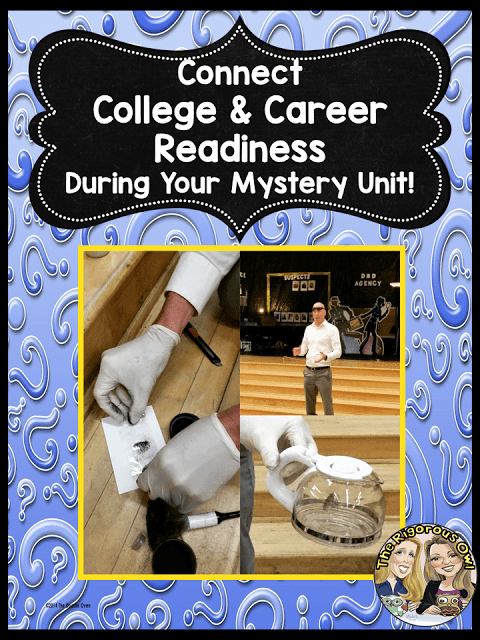 Connect College and Career Readiness during your Mystery Unit!