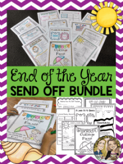 End of the Year Send Off Activity Bundle