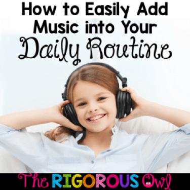 Click here and read why music should be part of your daily routine and grab our FREEBIES.
