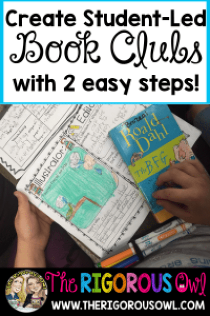Create student-led Book Clubs with just two easy steps! Find out here!