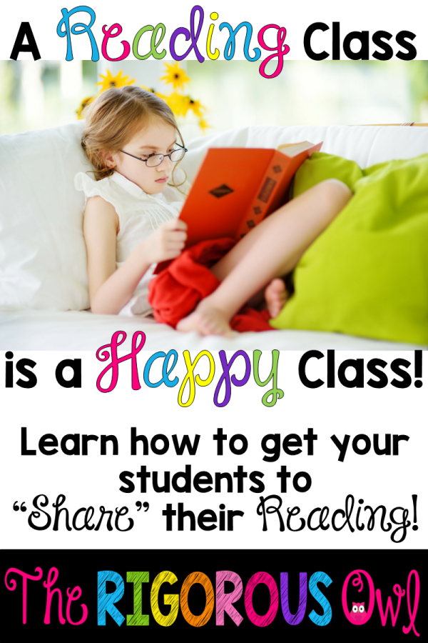 A reading class is a happy class. Find out how to get your students talking about their reading!