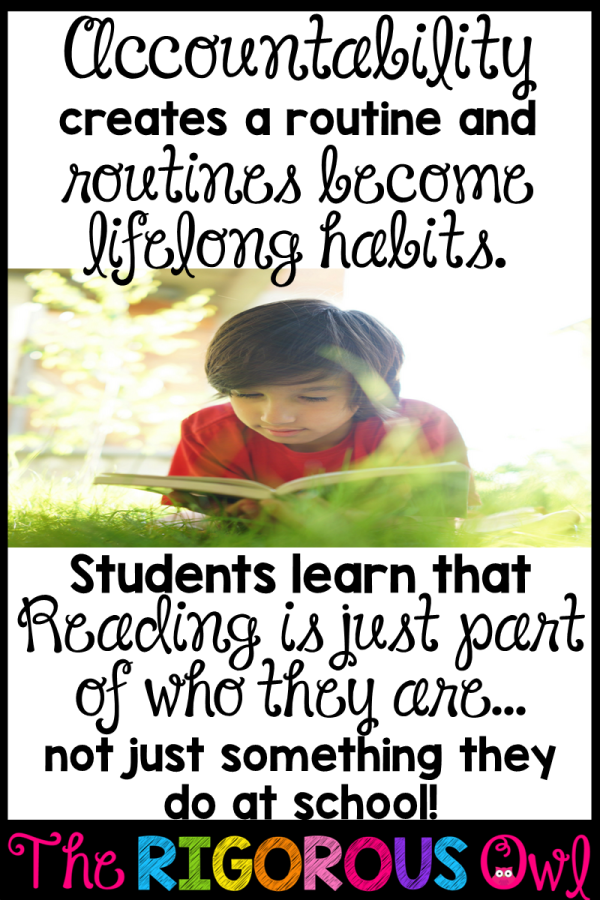 Reading routines create healthy reading habits for life!