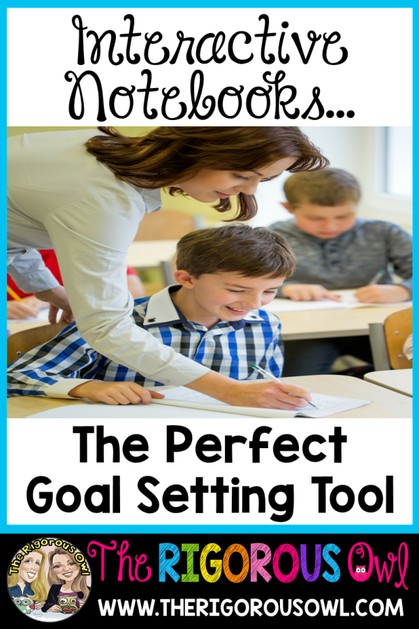Interactive Notebooks are the Perfect Goal Setting Tool... Find out how here!