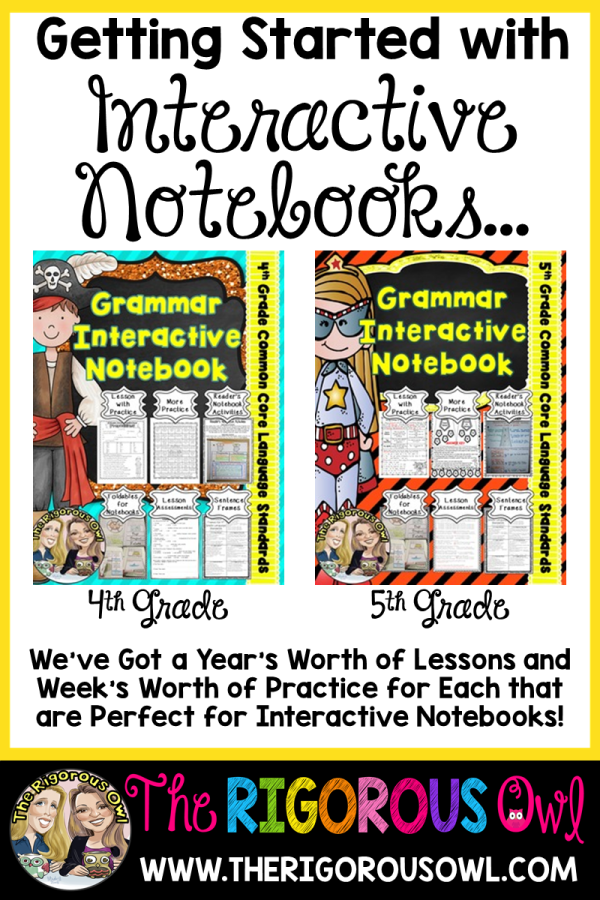 Language YEAR LONG Interactive Notebook Bundles