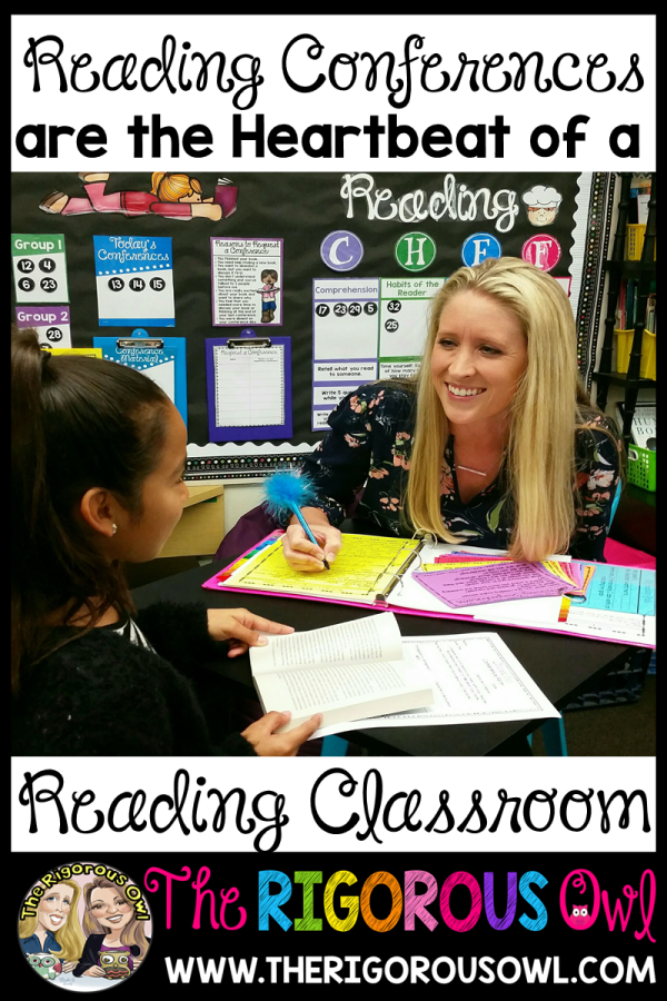 Reading Conferences are the HEARTBEAT of a Reading Classroom! Find out more HERE!