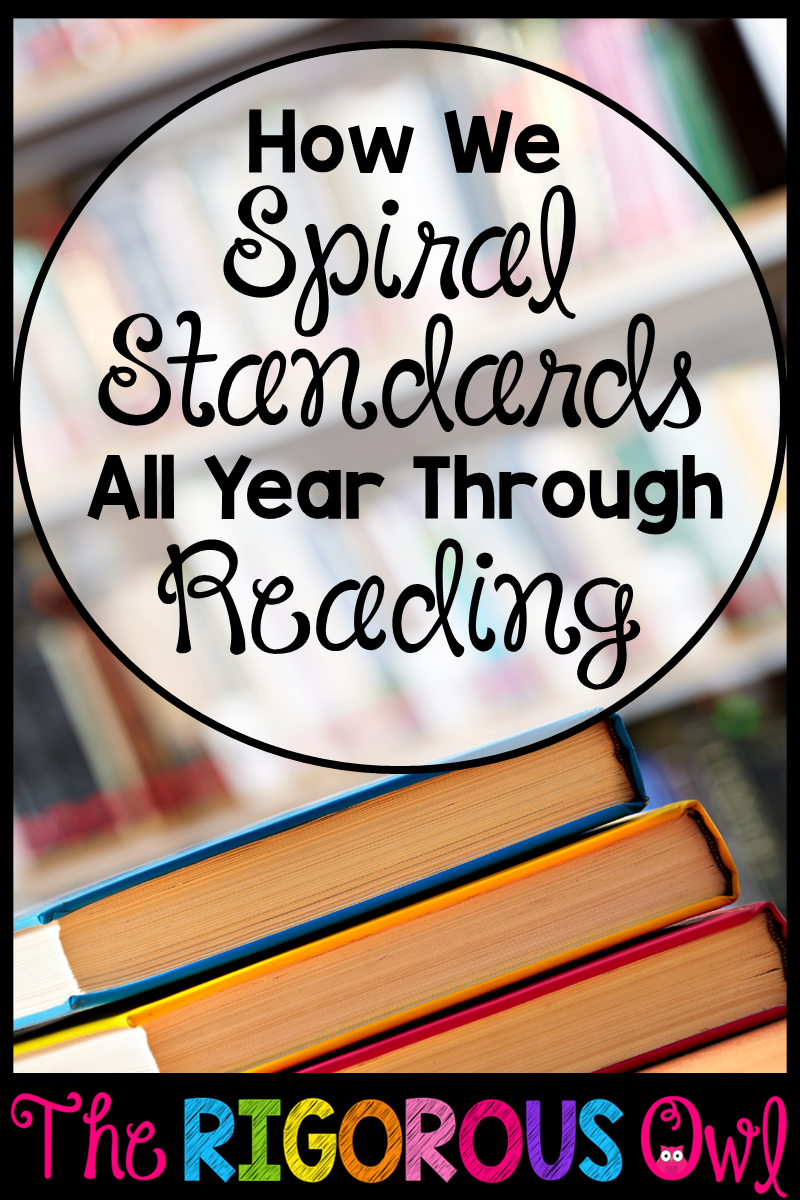 Spiral Your Standards Through Reading With Standards Based Brochures!