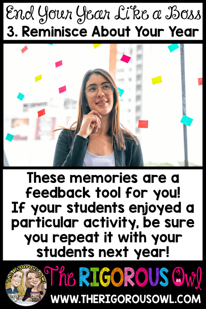 Step 3: Reminisce about your year!