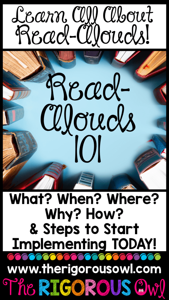 Learn All About Read-Alouds