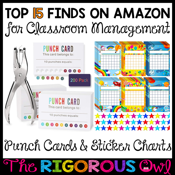 Classroom Management Finds on Amazon