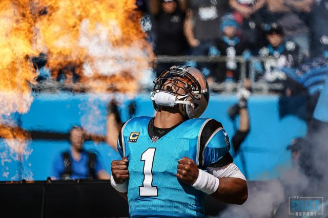 Cam Newton Playing At An MVP Pace   The Riot Report