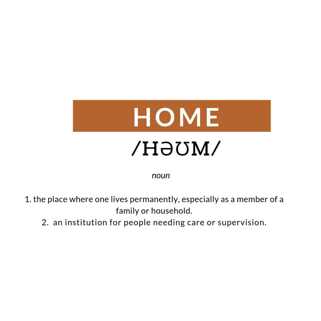 Home redefined