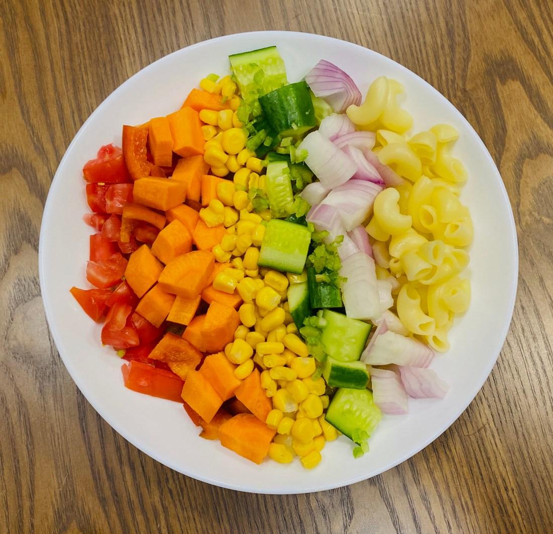 Ladle & Love: Color Spectrum Salad Recipe