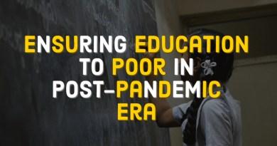 Ensuring Education in Post-Pandemic Era