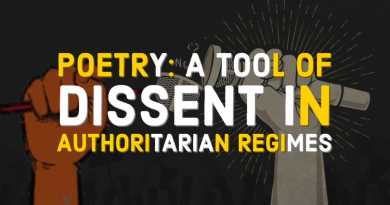 Poetry as a Tool of Dissent in Modern Day