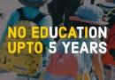 No education upto 5 years
