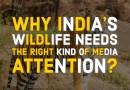 India's wildlife needs right media attention
