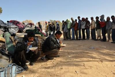 Libyan Humanitarian Crisis
