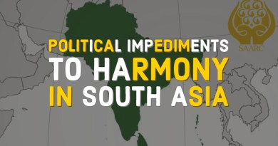Political Impediments to South Asian Harmony