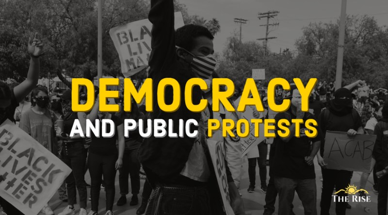 Rolling the Dice of Democracy through Protests