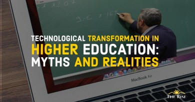 Technological Transformation in Higher Education