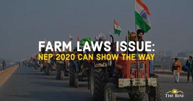 Way forward to farm laws